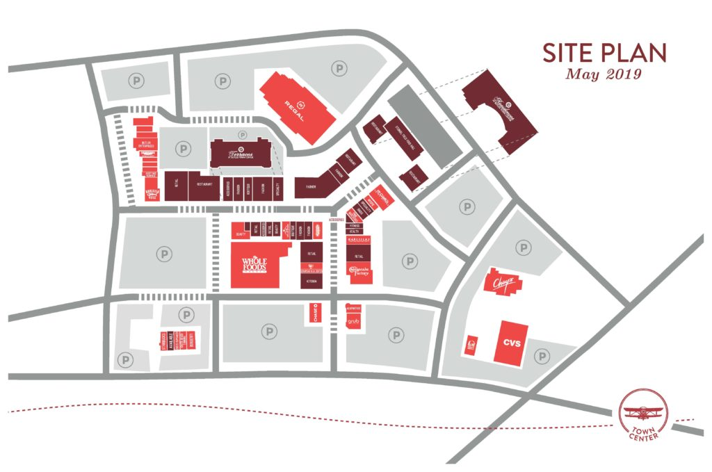 Butler Town Center Site Plan