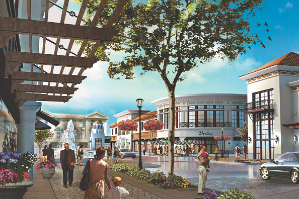 Butler Town Center Rendering