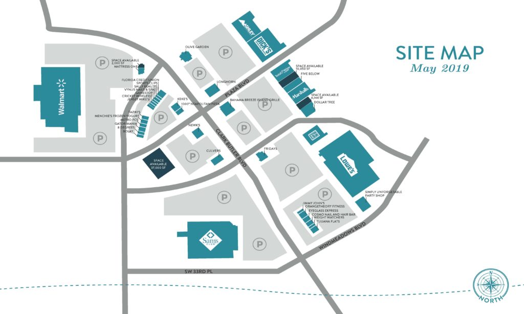 Butler North Site Map